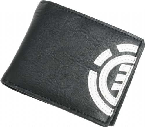 ELEMENT MENS WALLET.DAILY BLACK FAUX LEATHER CREDIT CARD MONEY PURSE 9w LA4 3732